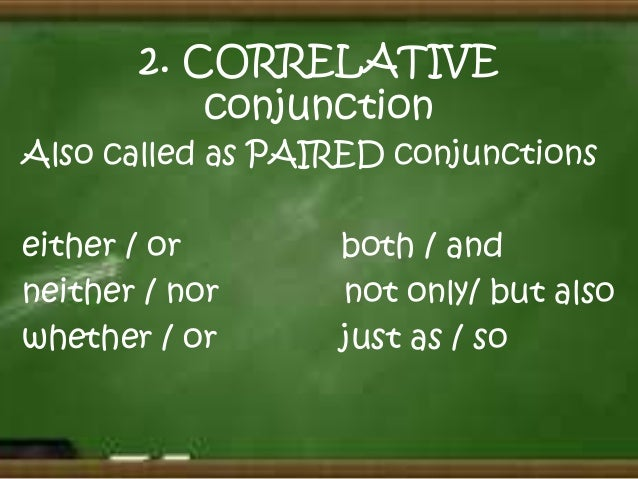 papers correlative conjunction What is a subordinating conjunction see examples of subordinating conjunctions see the definition of subordinating conjunction in grammar monster's list of grammar.