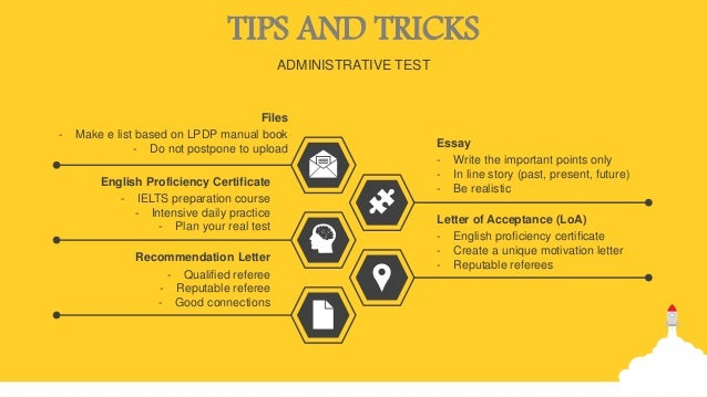 tips on the spot essay lpdp