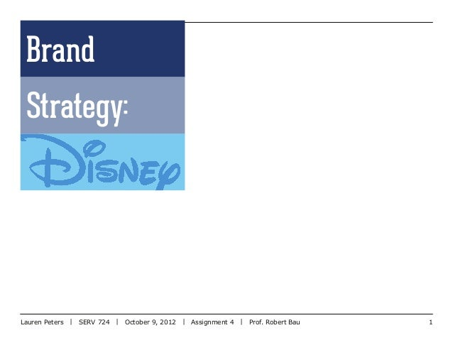 disney brand positioning Brand loyalty: applying disney's formula for long-lasting success by bruce i jones few global brands can boast the kind of passion and.