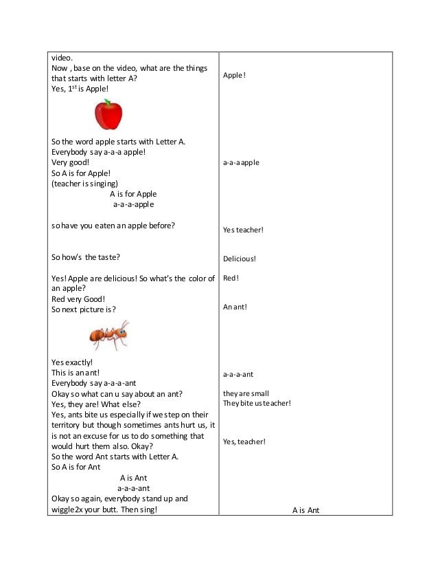 Detailed lesson plan in english for kindergarten 4 video spiritdancerdesigns Choice Image