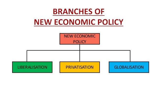 The New Economic Policy 1991
