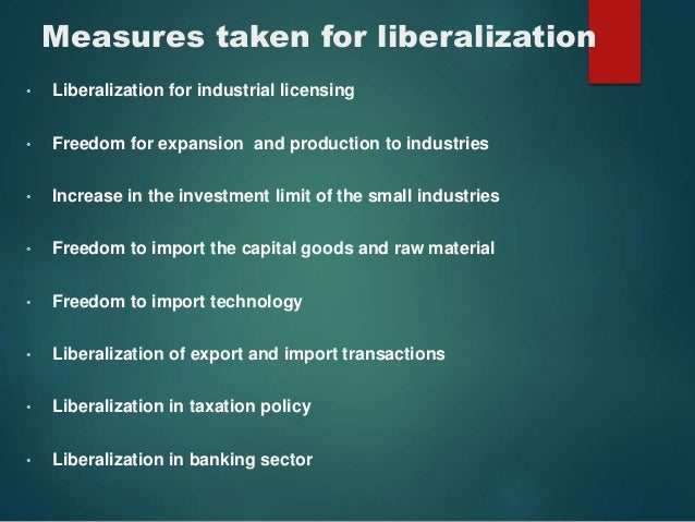 the liberlization and privatization of the indian economy 159 globalization and privatization are actually closely related to one another  this lpg phenomenon was first initiated in the indian economy in 1990 when  the.