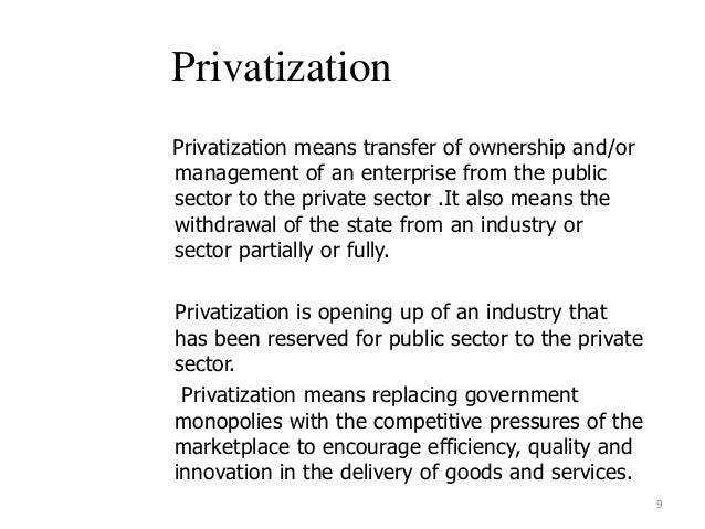 liberization privetization globlization Liberization, privetization, globlization research paper librelization in general, liberalization refers to a relaxation of previous government restrictions.