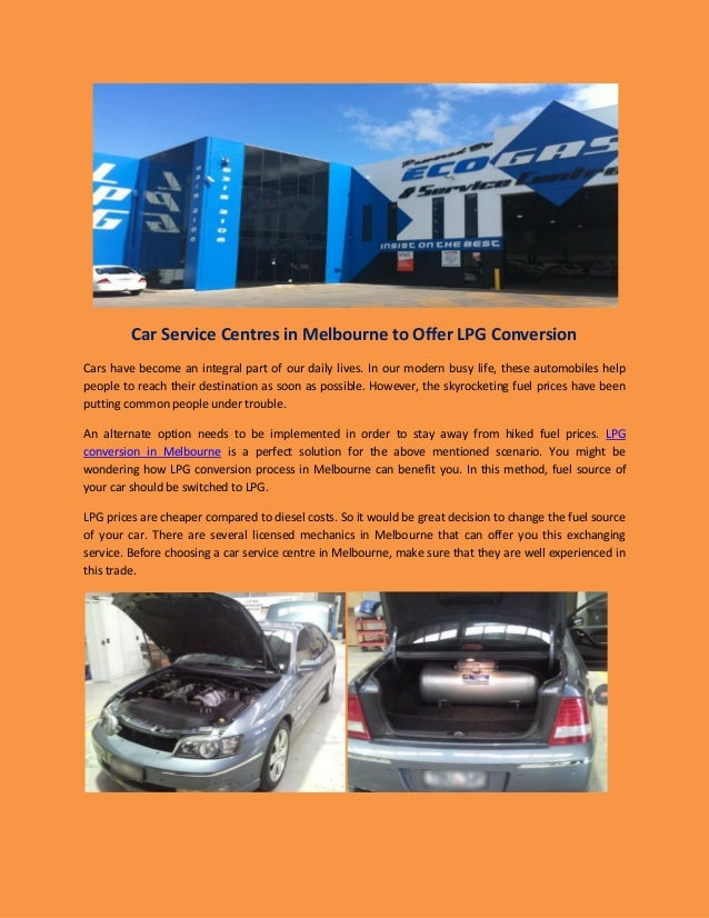 Lpg conversion melbourne prices