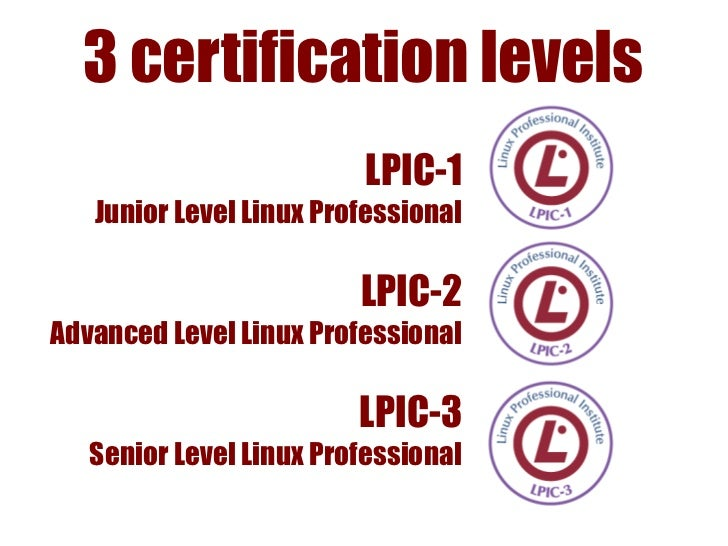 LPIC-2✔ Pre-Requisite LPIC-1✔ Exams 201 + 202✔ Administer a medium-sized site✔ Managing a small mixed network✔ Supervising...