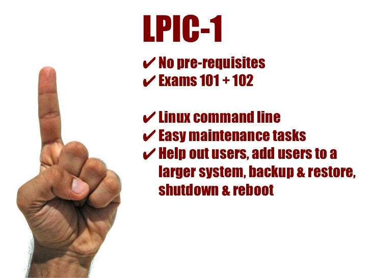 LPIC-3 Core✔ Pre-Requisite LPIC-1 + LPIC-2✔ Exam 301✔ Experience  → enterprise, scripting, integration✔ Advanced Linux adm...