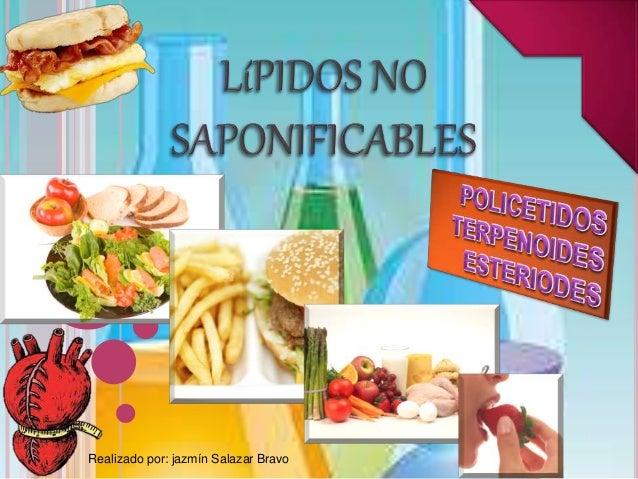 lipidos insaponificables esteroides