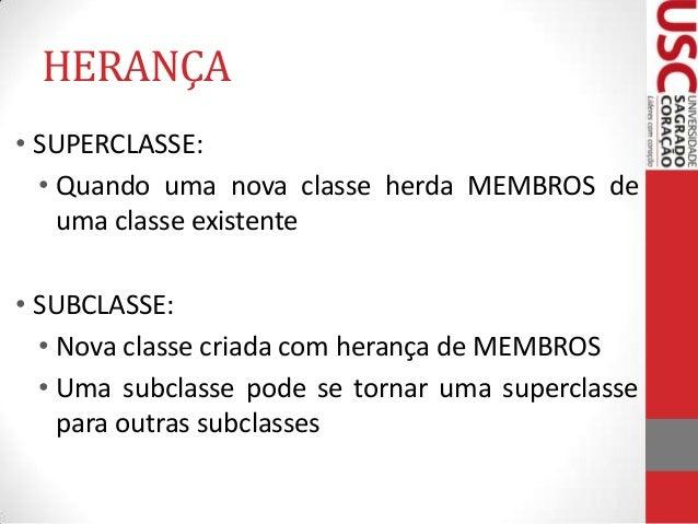 JAVA - Herança Slide 3