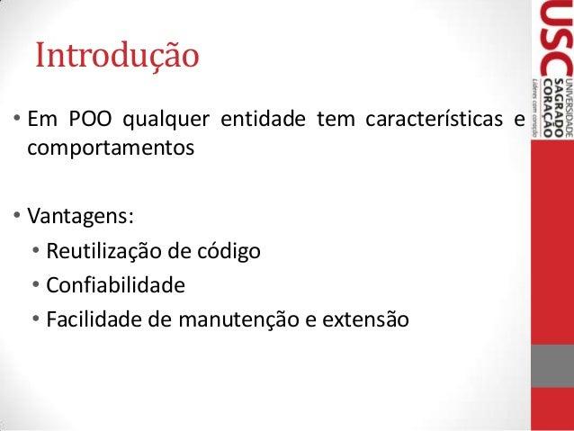 JAVA - Orientação a Objetos Slide 2