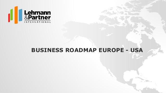 Business Roadmap USA - Deutsch