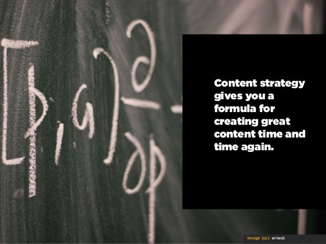 Content strategy for information professionals: slides from LIKE Slide 3