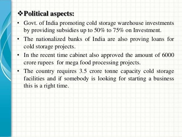• A cold storage unit incorporates a refrigeration system to maintain the desired room environment for the commodities to ...