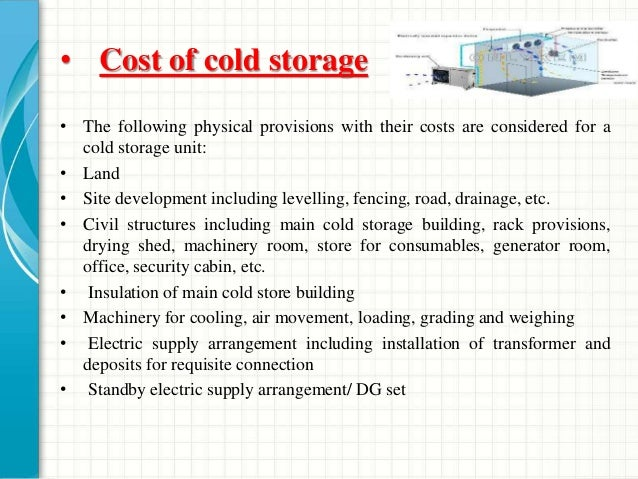 cold storage business in india
