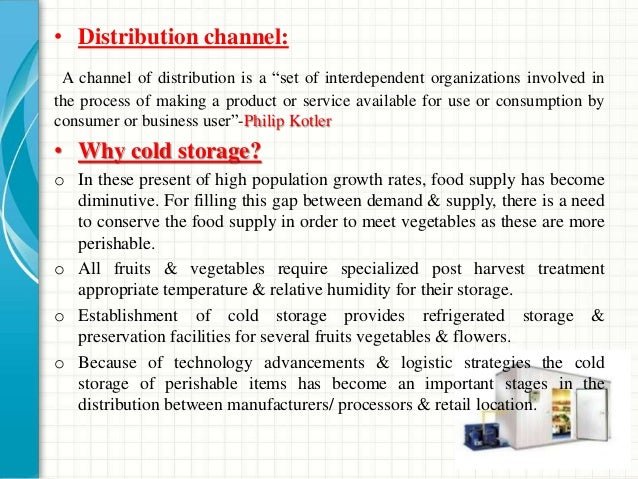 """• Distribution channel: A channel of distribution is a """"set of interdependent organizations involved in the process of mak..."""