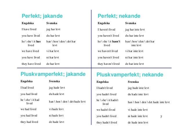 svenska grammar
