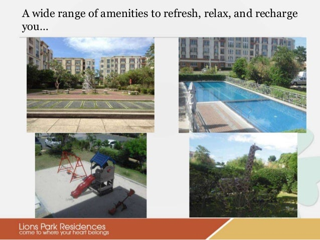 Lions Park Residences At Manila