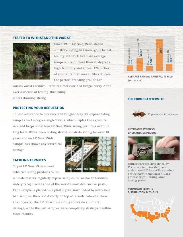 LP SmartSide Durability Brochure Slide 2