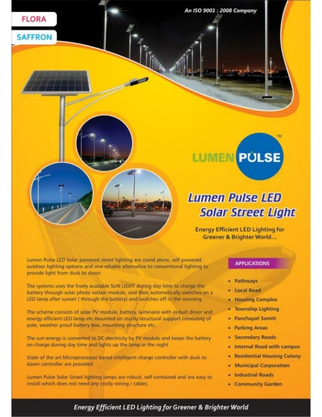 Lp Solar Street Light Brochure