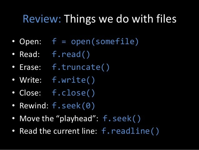 Learning Python - Week 3