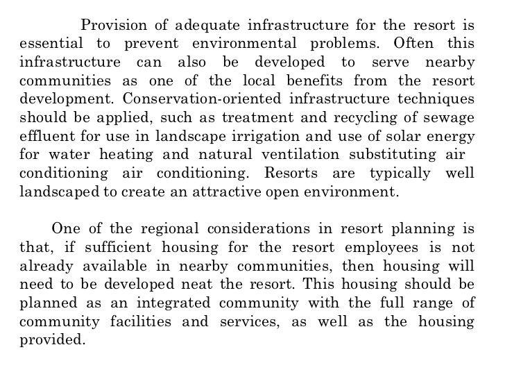 planning resort planning  16
