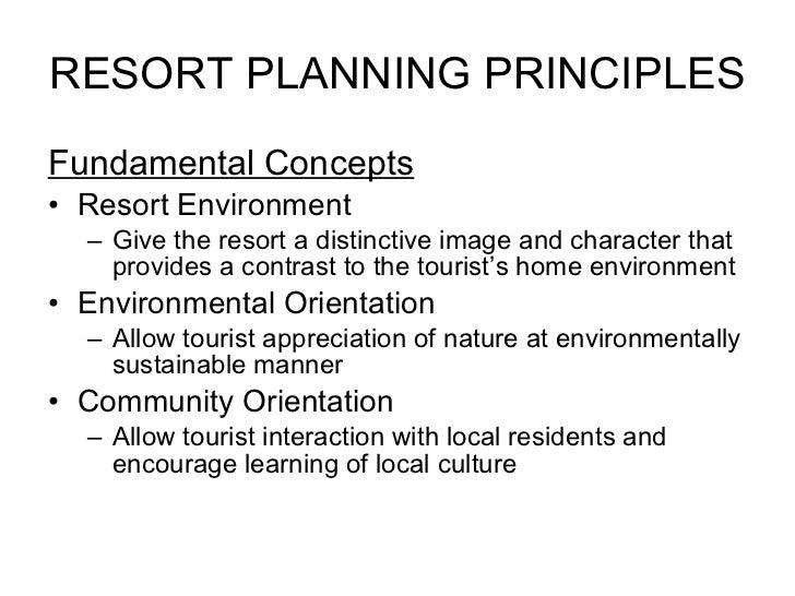 Planning Resort