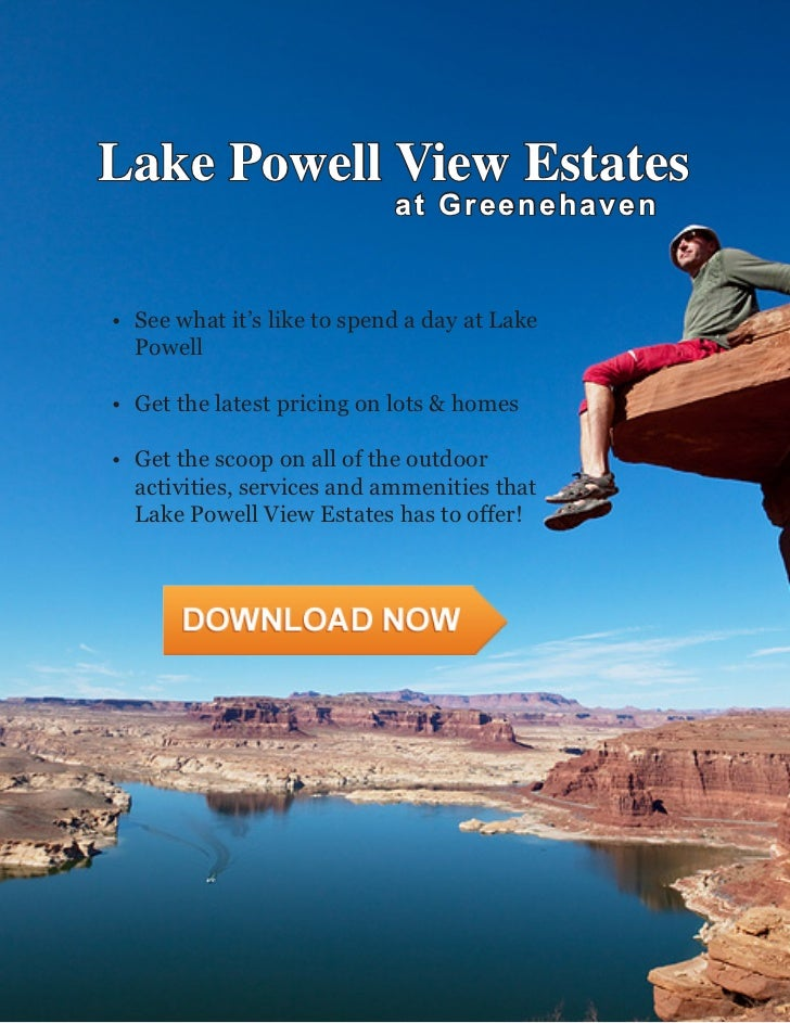 Welcome To Lake Powell View Estates