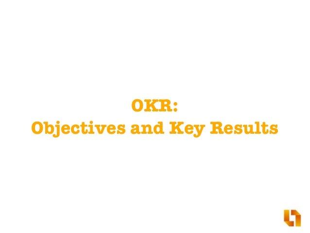 What is OKR? Slide 3