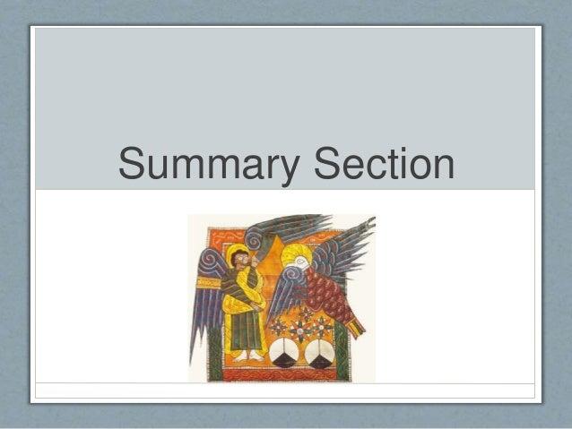 Summary Section