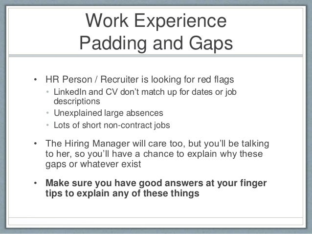 work experience - How To Write A Resume For Work Experience