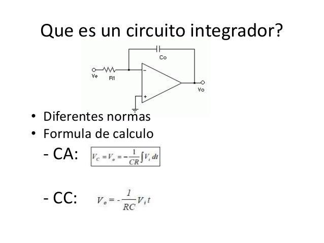 Circuito Operacional : Opam circuito integrador