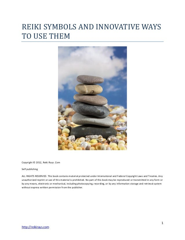 Reiki Symbols And Innovative Ways To Use Them