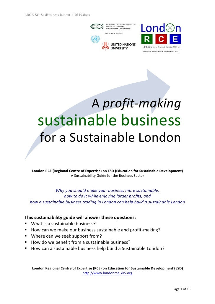 LRCE-SG-SusBusiness-laidout-110119.docx                                          A profit-making       sustainable busines...