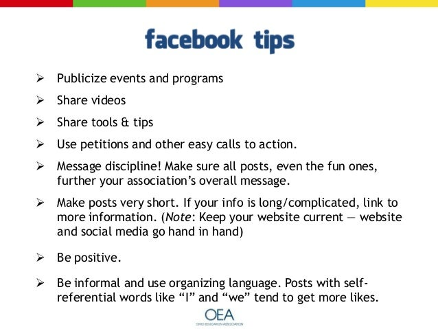   Posts published on Saturdays and Sundays get more likes than those posted during the week.    Content posted later in ...