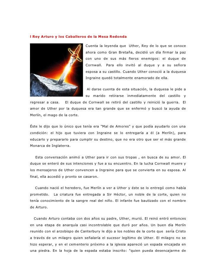MERLIN Y ARTURO : Y LOS CABALLEROS DE LA MESA REDONDA