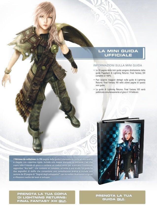 Anteprima Lightning Returns: Final Fantasy XIII - Guida Strategica Ufficiale Slide 2