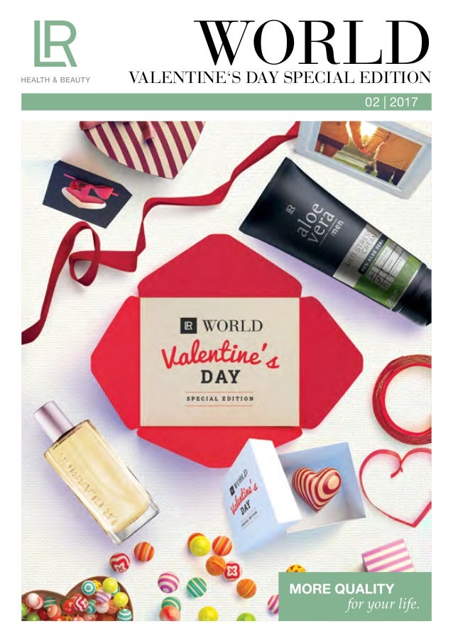 02 | 2017 WORLDVALENTINE'S DAY SPECIAL EDITION