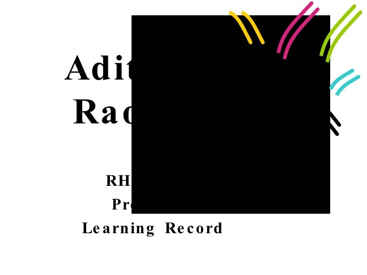 Aditi Rao RHE 360M Prof. Batt Learning Record