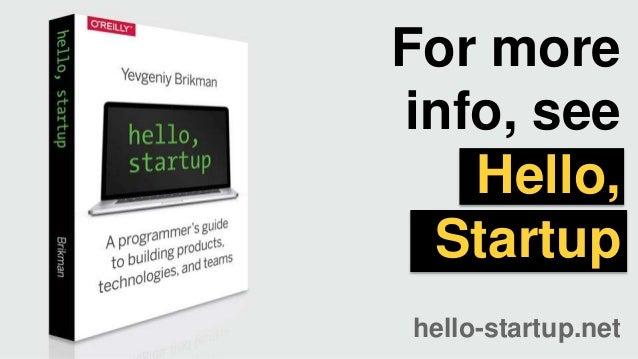 Startup Ideas and Validation