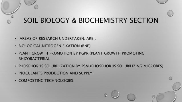 Basic techniques in isolation of soil bacteria for Soil biology and biochemistry