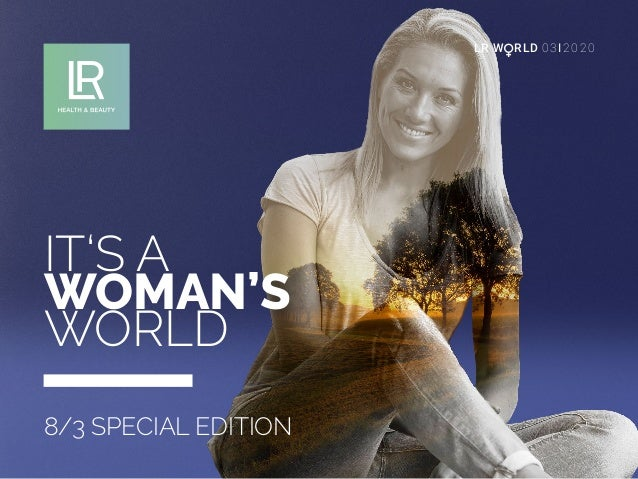 LRW RLD 03I2020 IT'S A WOMAN'S WORLD 8/3 SPECIAL EDITION