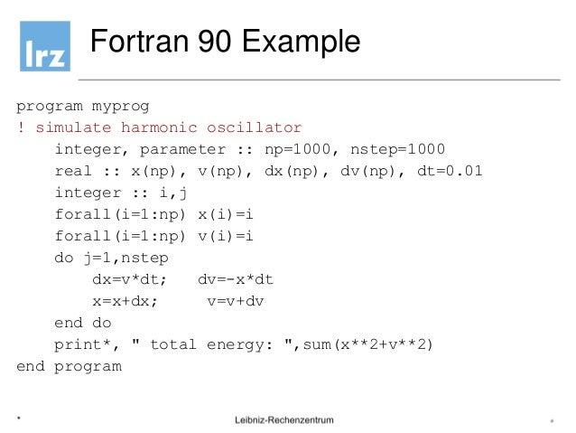 fortran 77 programs examples pdf
