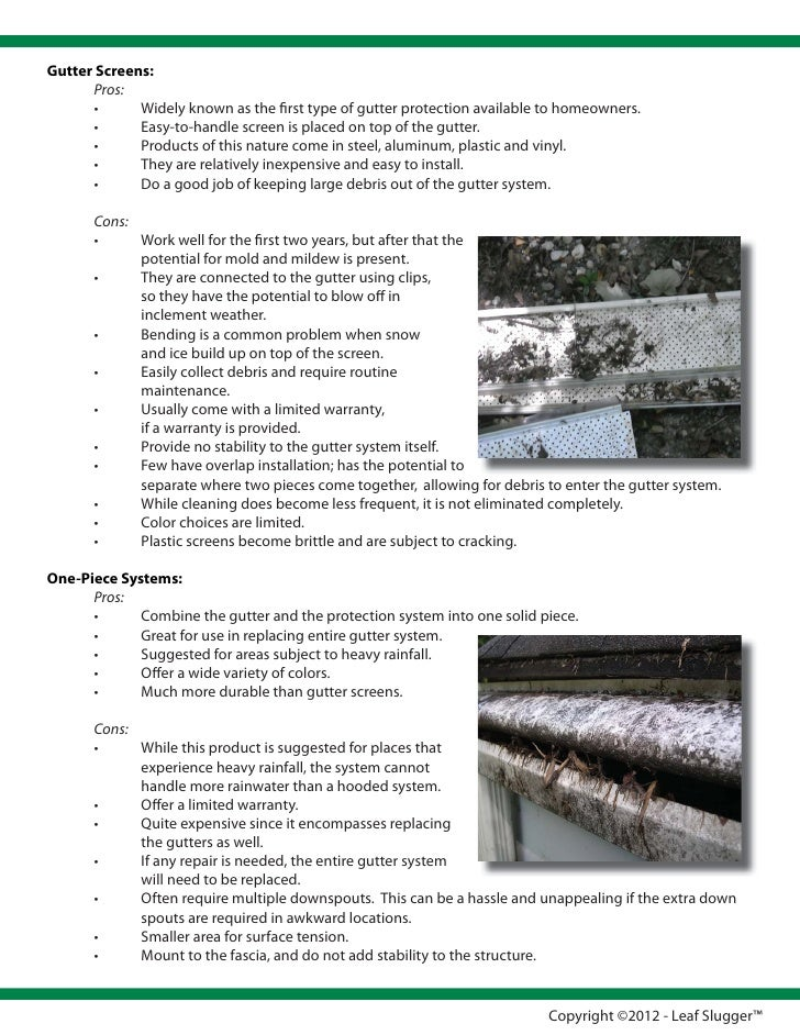 Gutter Protection Buyers Guide For Gutter Guards