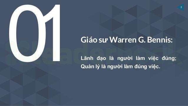 [Leaderbook] Lãnh đạo là gì? - Các khái niệm về lãnh đạo? Slide 2