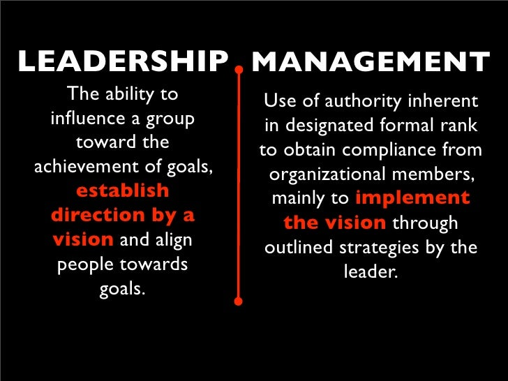 all managers are leaders but not all leaders are managers It's a myth that managers and leaders are the same thing while every leader may not be a manager, every manager should be a leader a manager who lacks effective leadership traits will drive a.