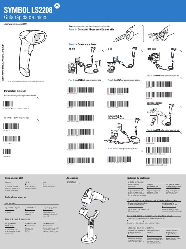 Ls2208 Quick Start Guide User Guide Manual That Easy To Read