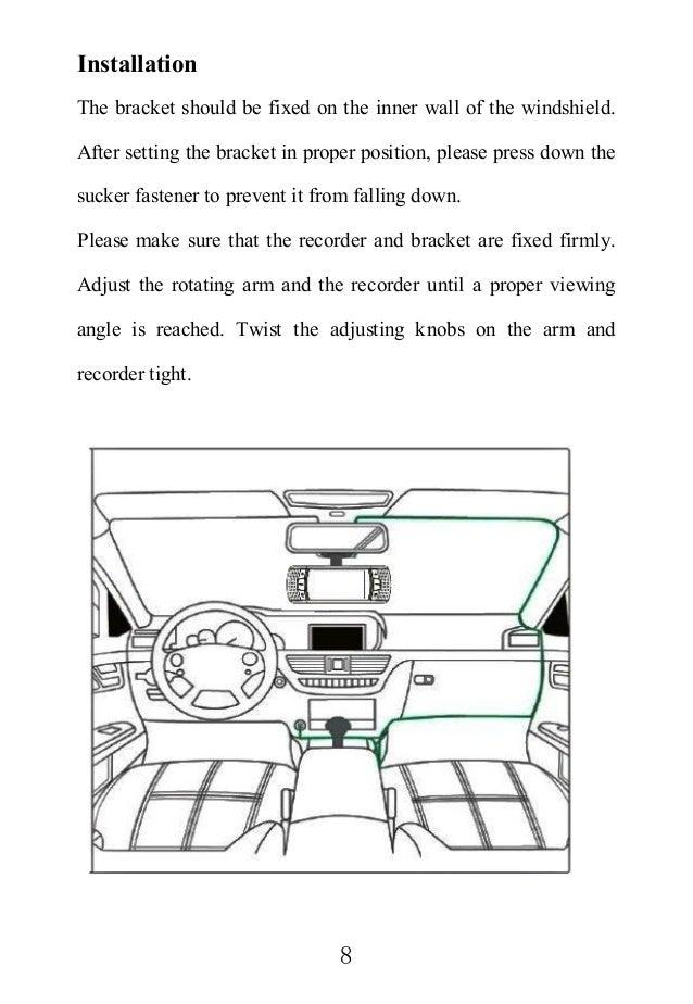 LS650W Car Dash Camcorder Chinese & English manual