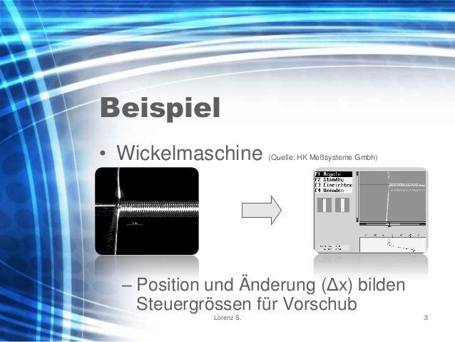 Industrielle Bildverarbeitung - Kurzeinführung Slide 3