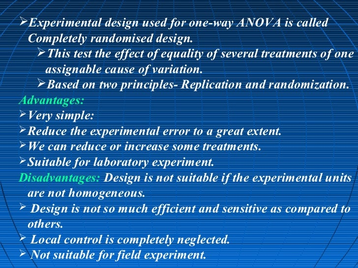 anova manova advantages disadvantages The classical approach is multivariate analysis of variance (manova, see eg   is to compare and discuss advantages and disadvantages of the approaches.
