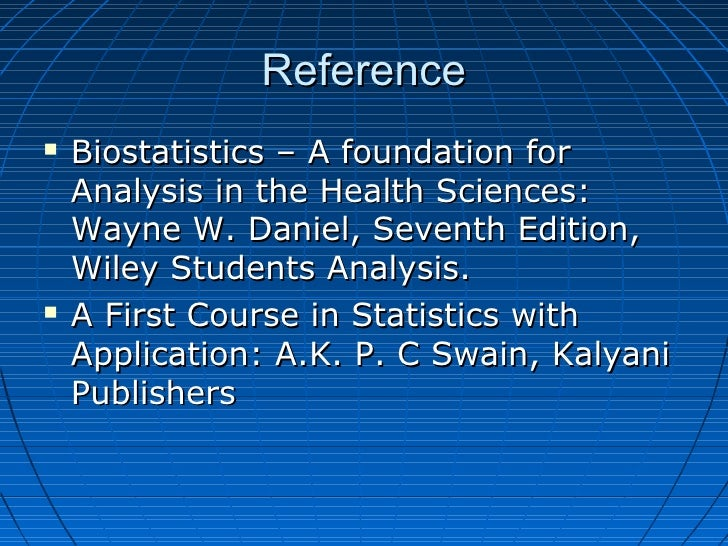 Biostatistics Concept & Definition