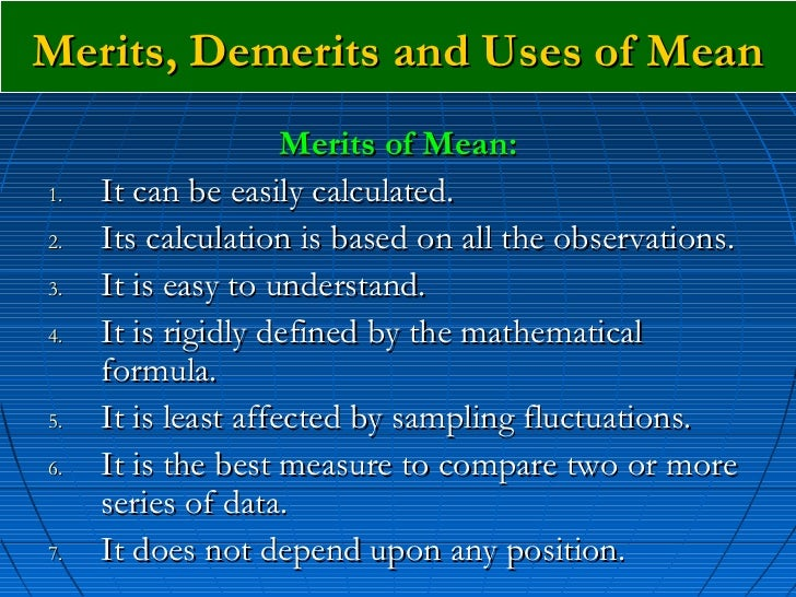 what are your merits and demerits